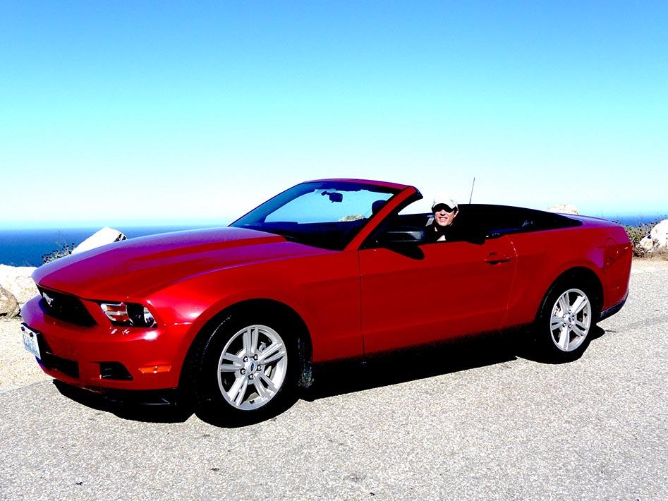 Perfect vehicle to take along a Big Sur drive.