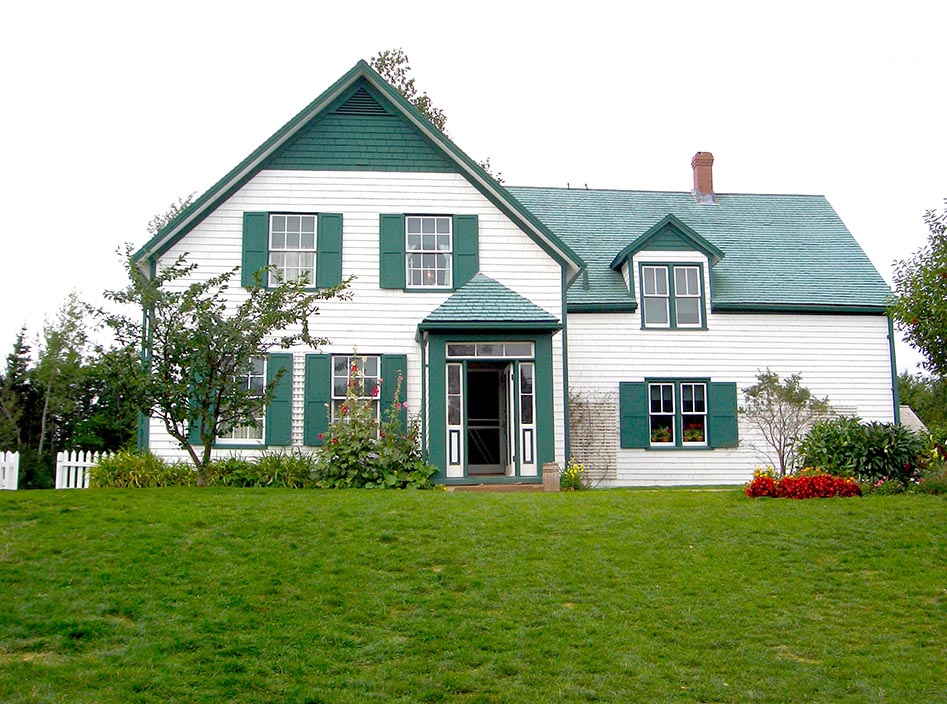 Anneof Green Gables museum.