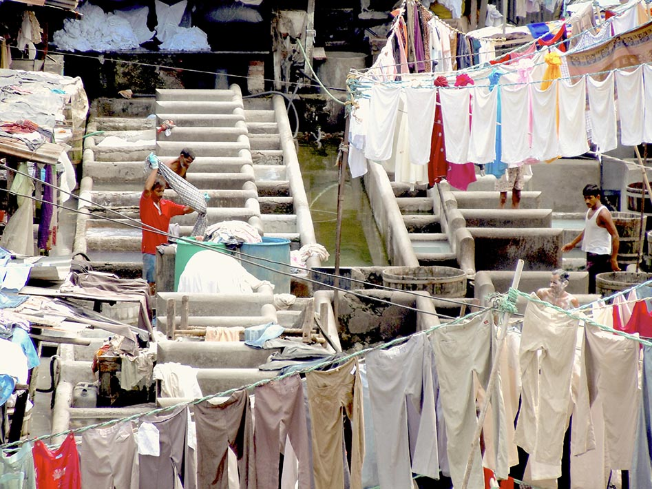 The industriousness of Dhobi Ghat