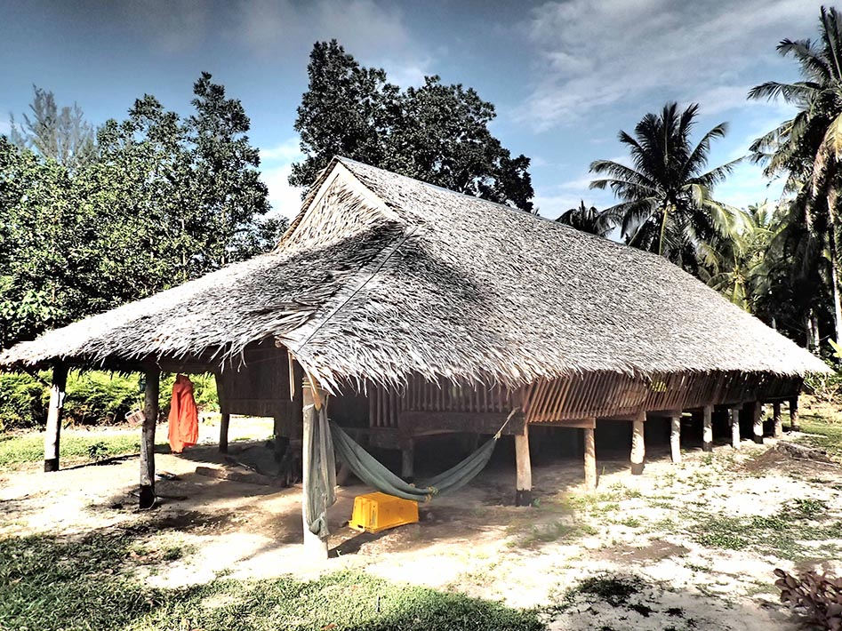 Long House at Kudat Turtle Beach Sanctuary