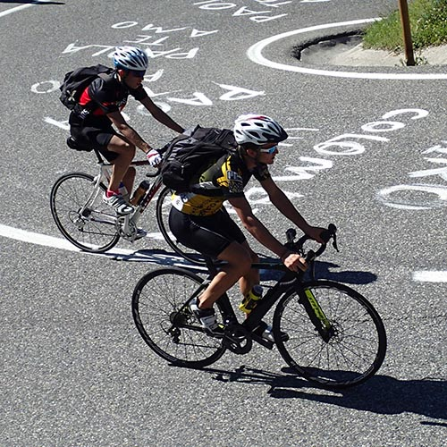 cyclists andorra