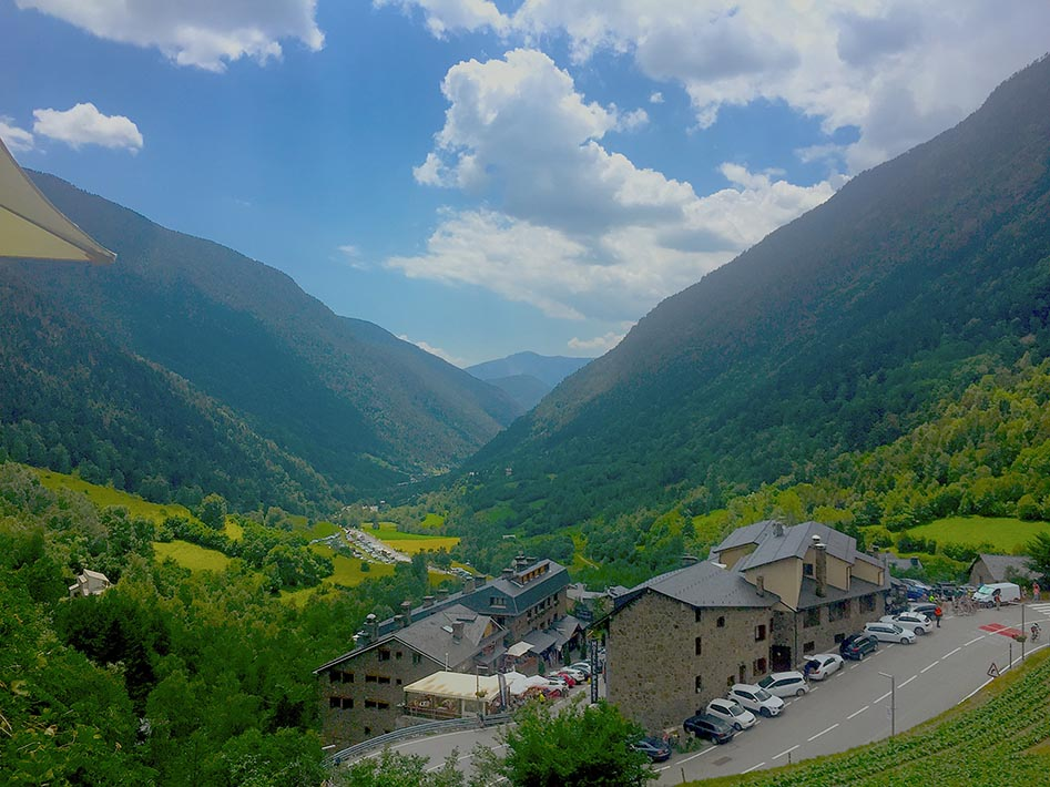 The view from Andorra Arcalis.