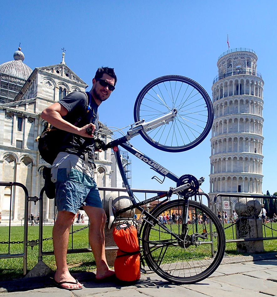 Obligatory stop at the Leaning Tower of Pisa