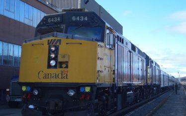 trans canada train