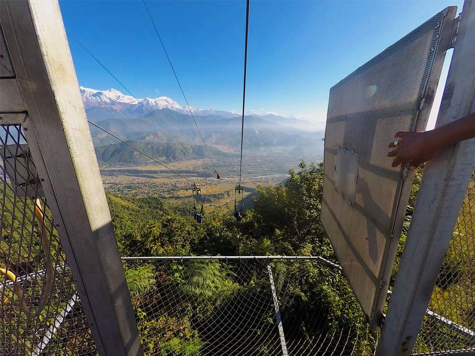 HighGround Adventures Zipflyer Pokhara