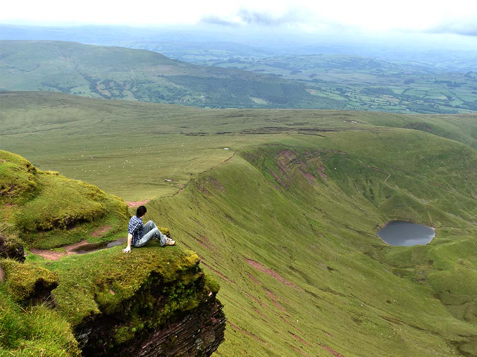 Corn Du peak on Pen y Fan