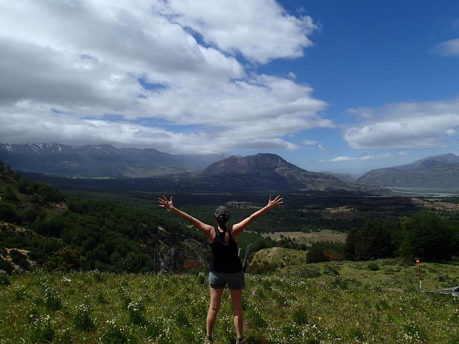 Erin and the Cerro Castillo Valley