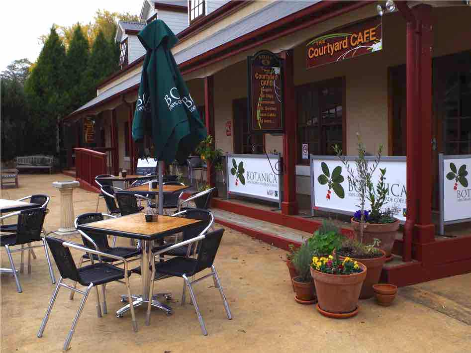 courtyard cafe berrima