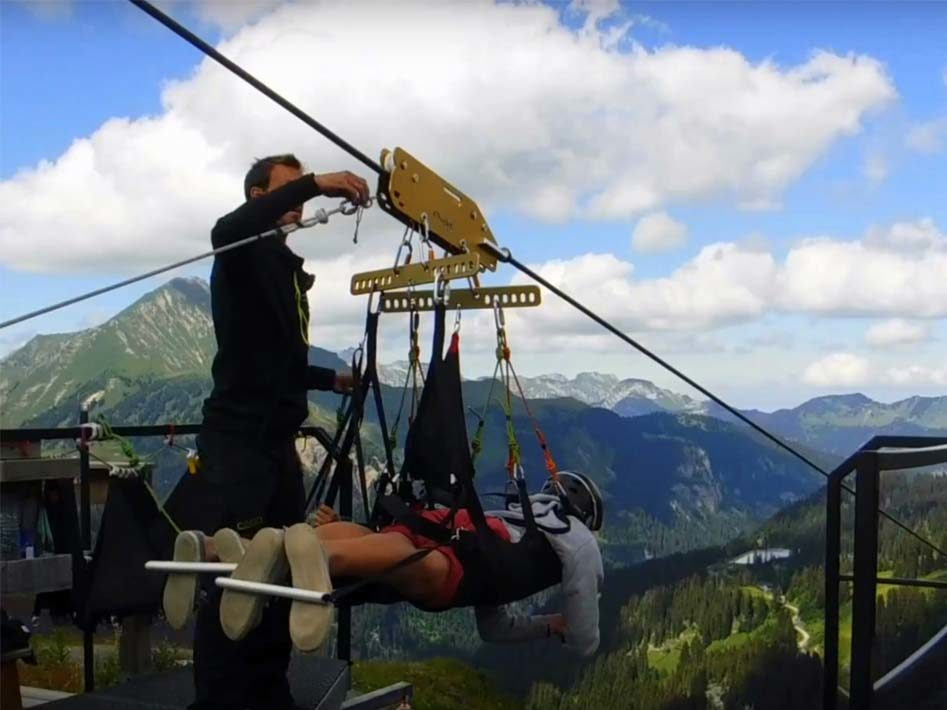 fantasticable zip-line france