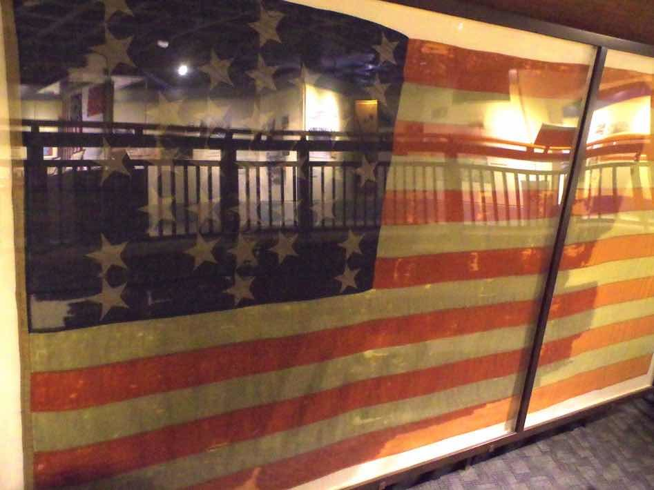 fort sumter us flag