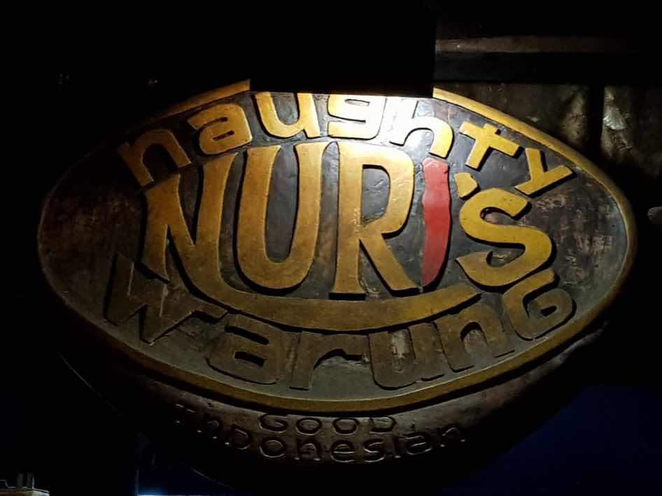 Naughty Nuri's Sign