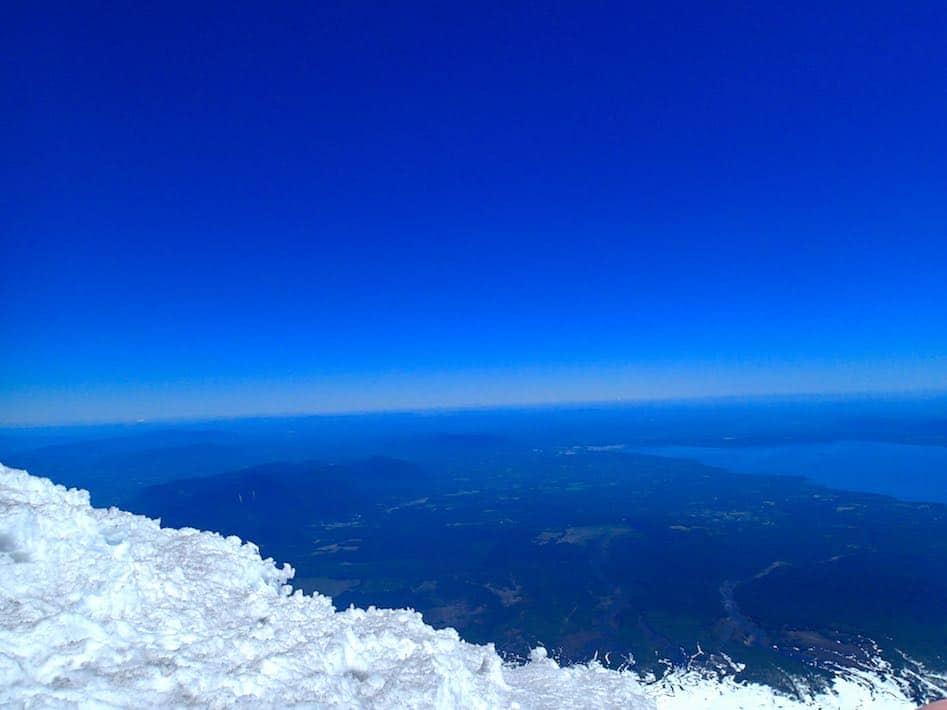 Villarrica summit